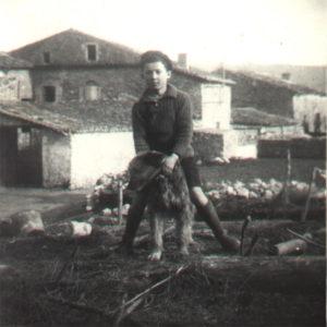 Alphonse a 10 ans, en 1939